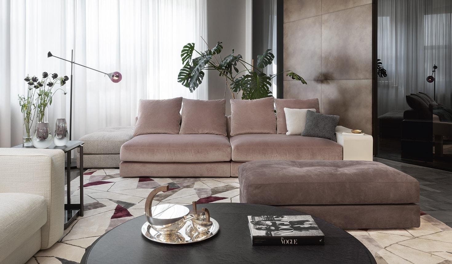 Новая коллекция Skyline фабрики Giorgetti